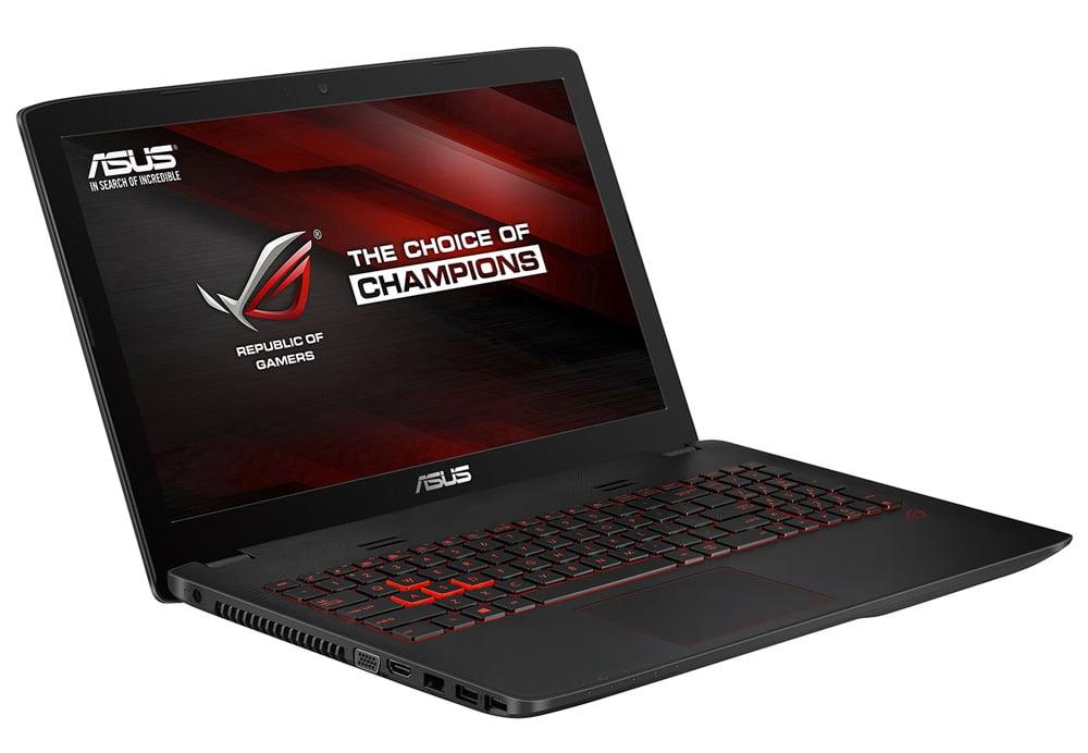 Asus GL551JW-XO376T à 799€, PC portable 15 pouces mat gamer