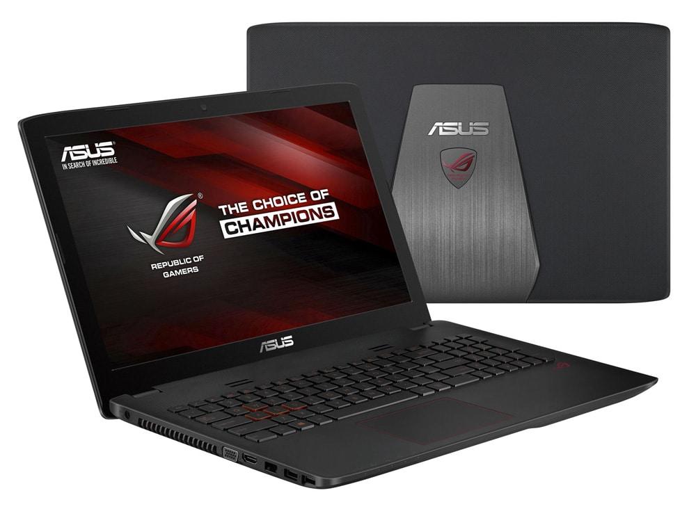 Asus GL552JX-DM388T à 899€, PC portable 15 pouces SSD Core i5 H GTX