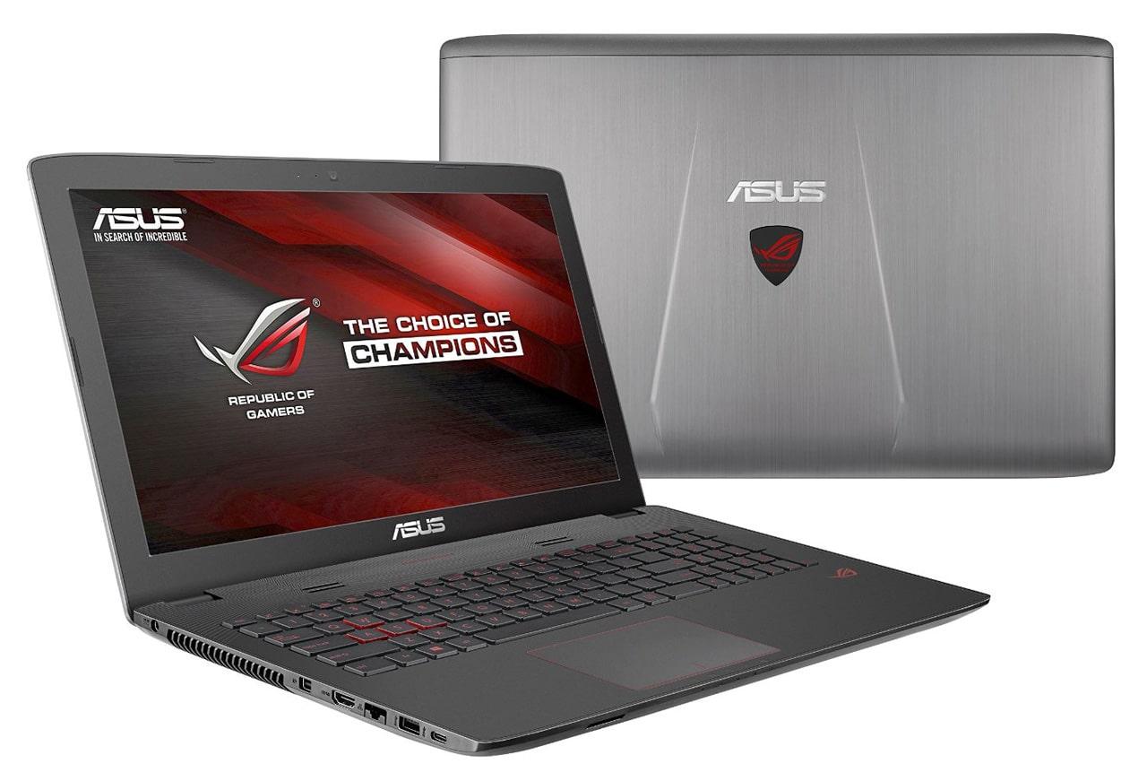 Asus GL752VL-T4014T, PC portable 17 pouces 965M SSD 256 Go i7 promo 1299€