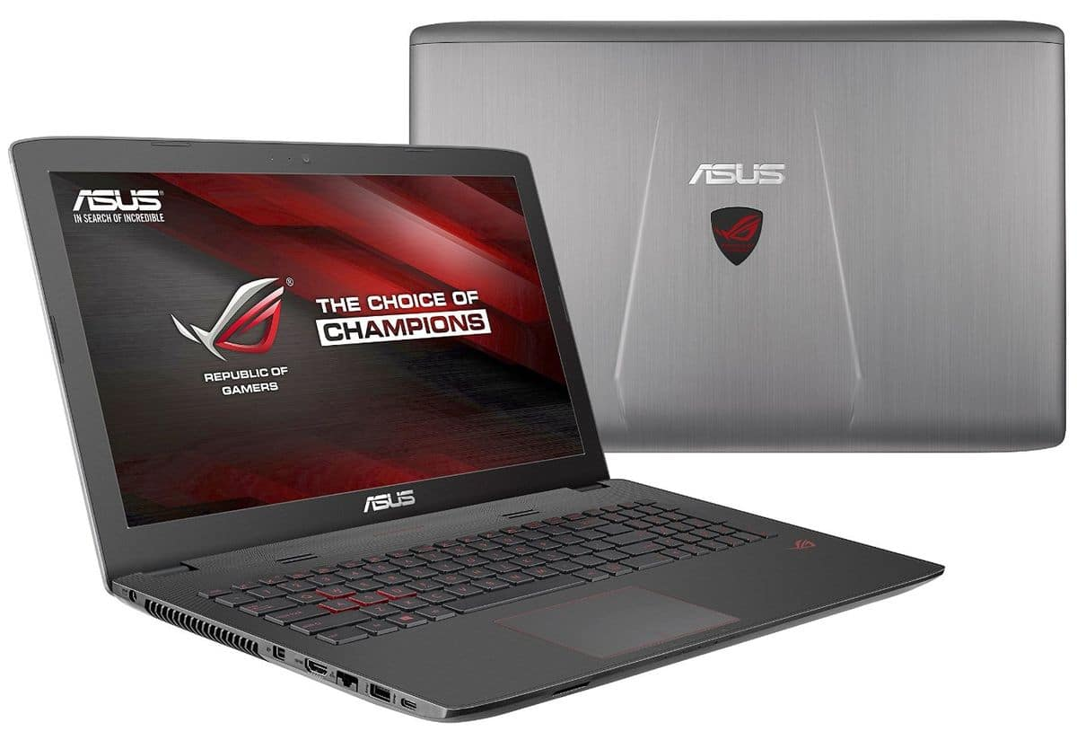 Asus GL752VW-T4108T, PC portable 17 pouces Full HD mat Skylake à 1199€