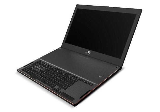 Asus GX501, PC portable le plus fin au monde avec carte graphique GTX 1080