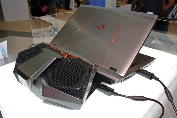Asus GX800VH, nouvelles infos sur le mastodonte SLI GTX 1080 4K 18 pouces