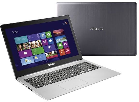 """Asus K551LB-XX274H, 15.6"""" polyvalent à 699€ avec GT 740M, Core i5 Haswell, 6 Go, SSD/750 Go"""