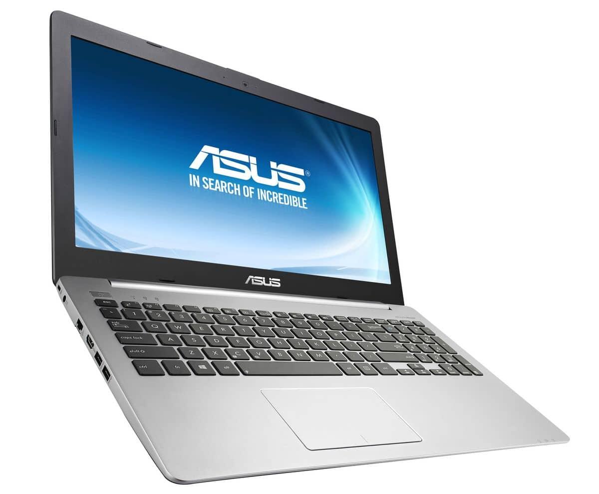 "Asus K551LN-XO518H, 15.6"" avec Core i7 Haswell, GeForce 840M et SSHD de 1 To à 699€"