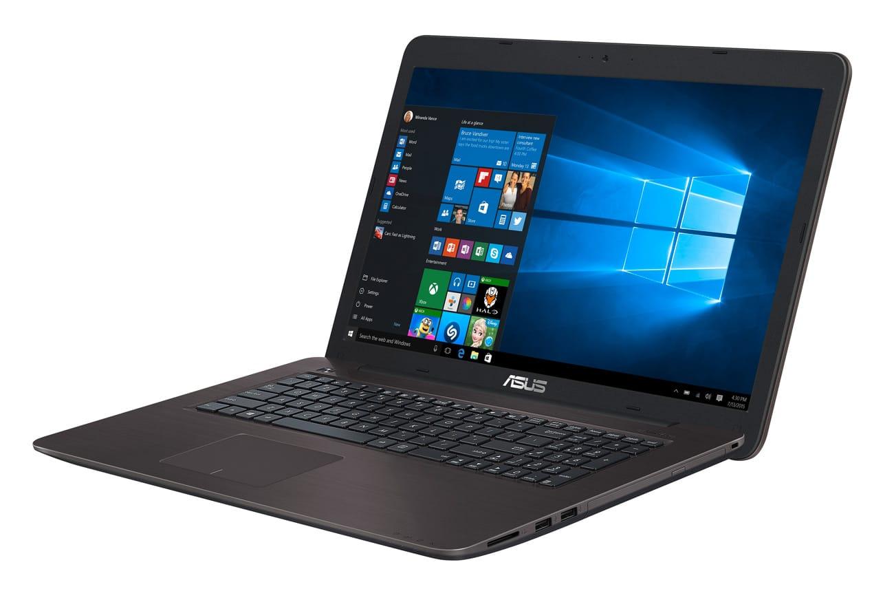 Asus K756UQ-TY328T, PC portable 17 pouces SSD Kaby i5 940MX à 799€