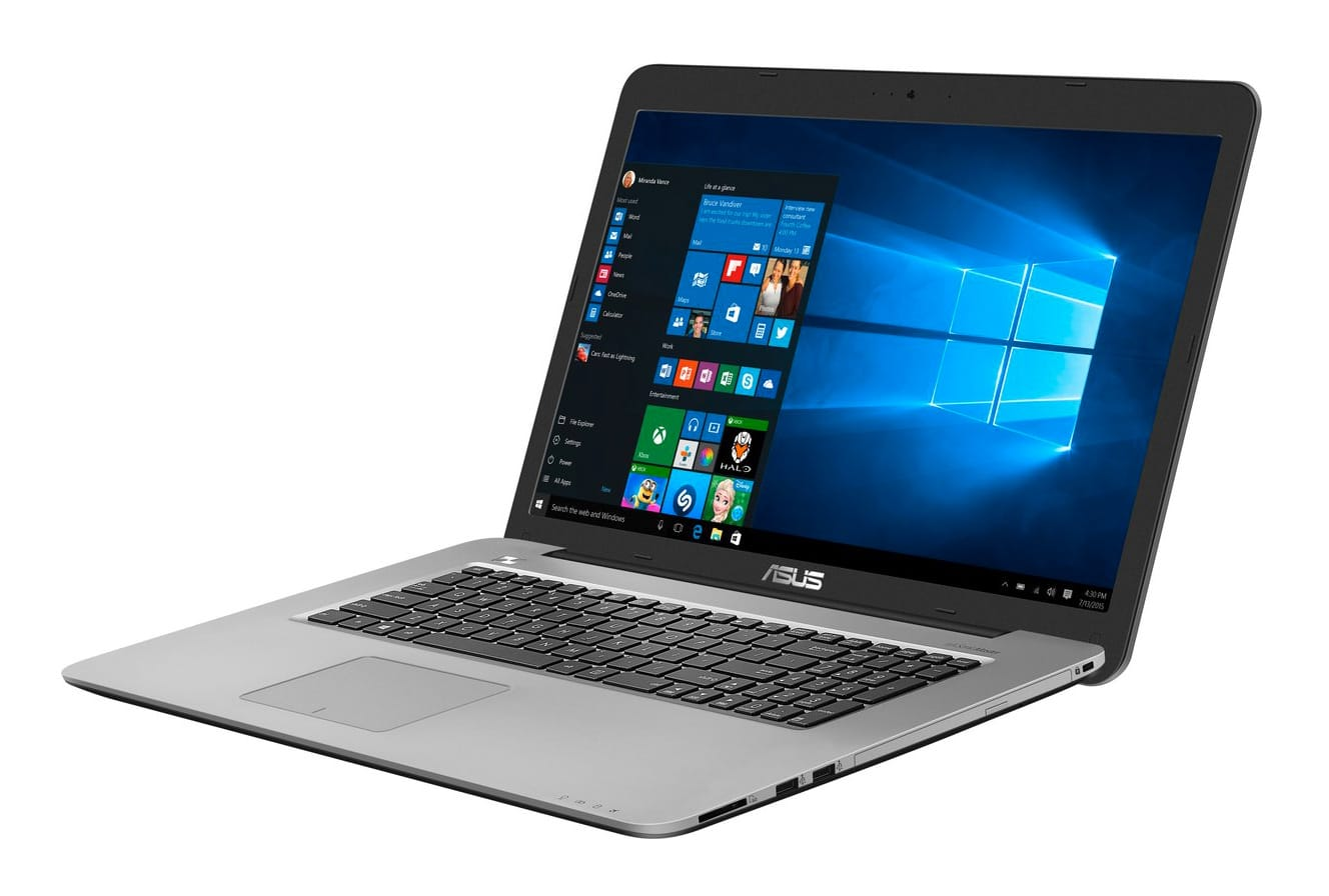 Asus K756UW-TY055T, PC portable 17 pouces i5 Kaby 960M 8 Go à 799€