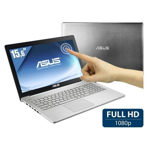 """Asus N550JK-CM070H, 15.6"""" Full HD tactile promo 969€ : 16 Go, GTX 850M, Core i7 Haswell, 1000 Go"""