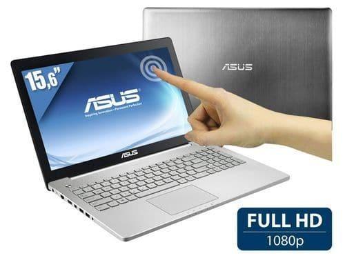 """Asus N550JK-CM116H, 15.6"""" Full HD mat tactile à 1199€ : GTX 850M, 1 To 7200tr, Core i7 Haswell, 8 Go, Blu-Ray"""