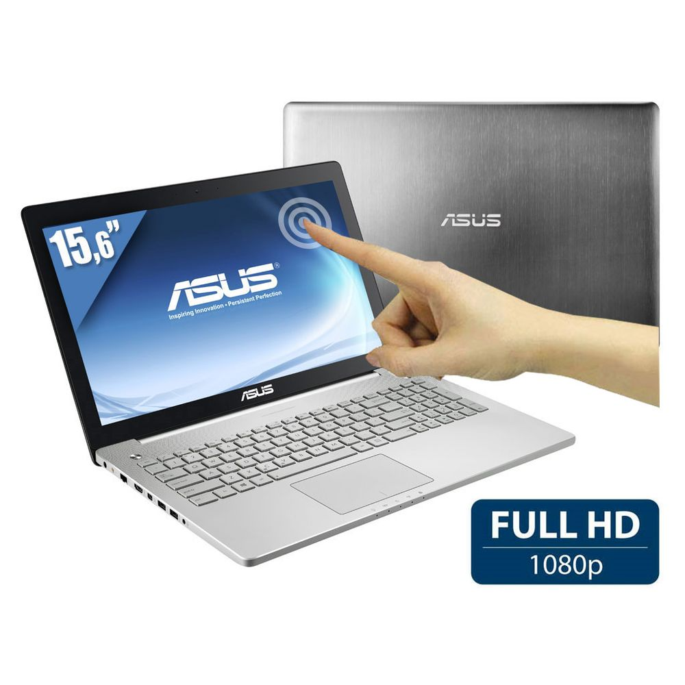 """Asus N550JK-CM305H, 15.6"""" tactile Full HD vente flash 998€ : 16 Go, GTX 850M, Core i7 Haswell, 1 To"""