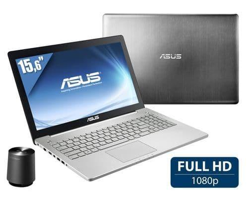 """<span class=""""tagtitre""""><del>Soldes 899€ - </span>Asus N550JK-CN466H, 15 pouces Full HD mat polyvalent vente flash 939€</del>"""
