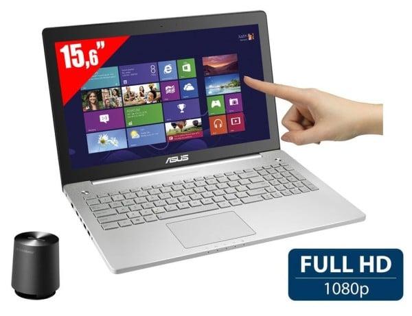 "<span class=""tagtitre"">Promo 599€ - </span>Asus N550JV-CM267H, PC portable 15 pouces polyvalent avec Blu-Ray"