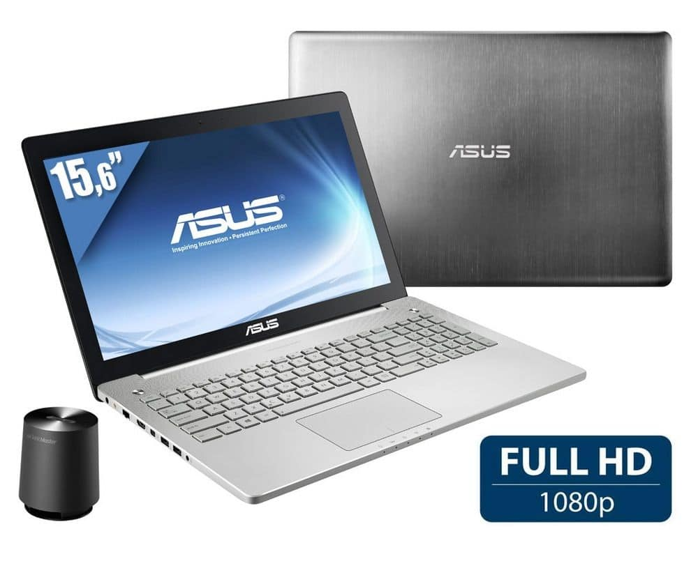 """Asus N550JV-CN275H en promo à 1186€, 15.6"""" Full HD mat : Blu-Ray, Core i7 Haswell, 16 Go, GT 750M, 1.5 To"""