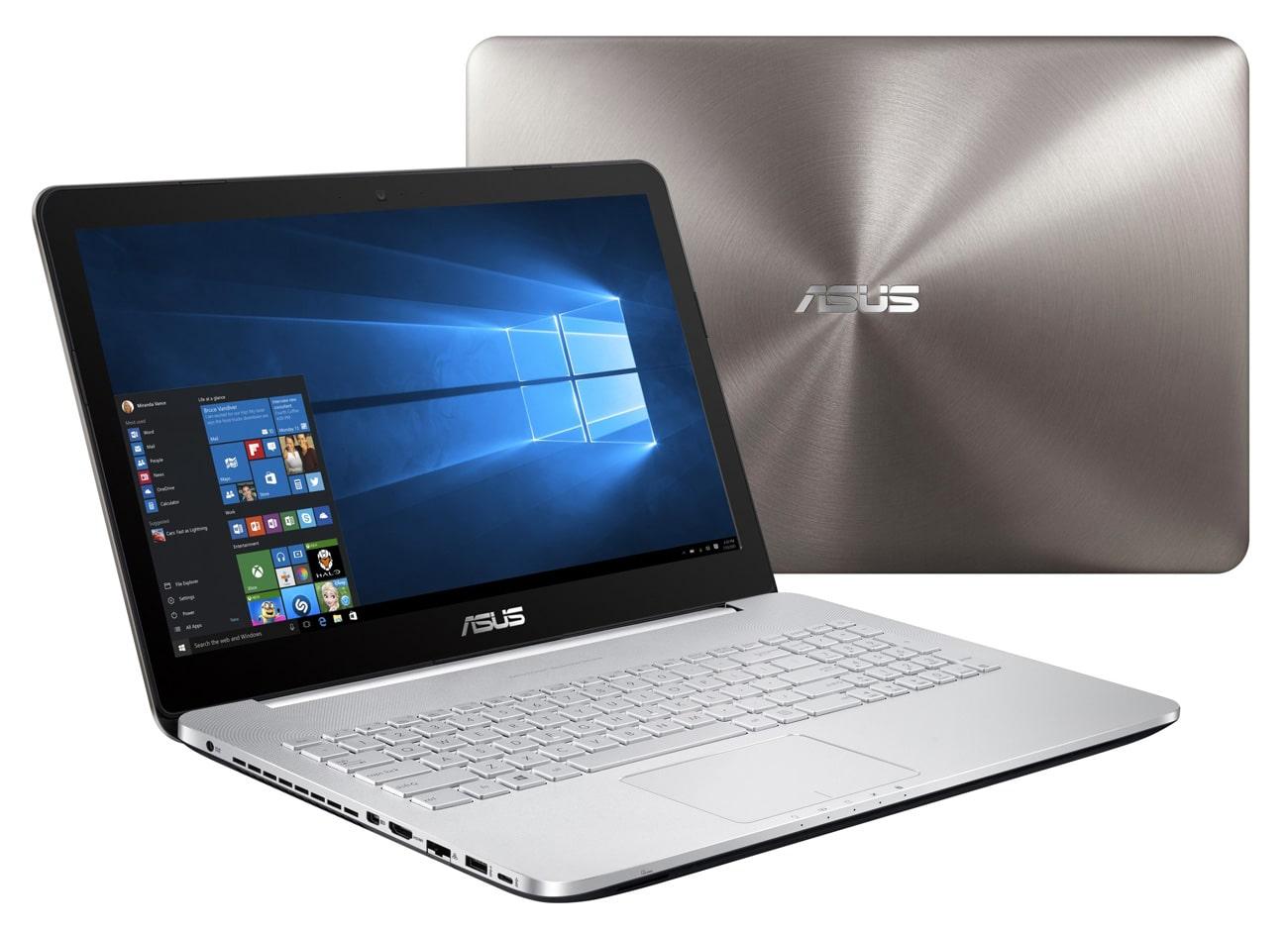 Asus N552VW-FI158T, PC portable 15 pouces 4K SSD Blu-Ray (935€)