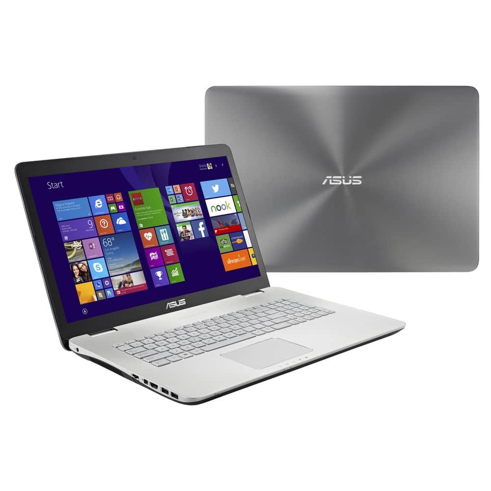 """Asus N751JK-T4206H, 17.3"""" Full HD mat vente flash 983€ : 16 Go, Core i7 Haswell, GTX 850M, 1 To 7200tr"""
