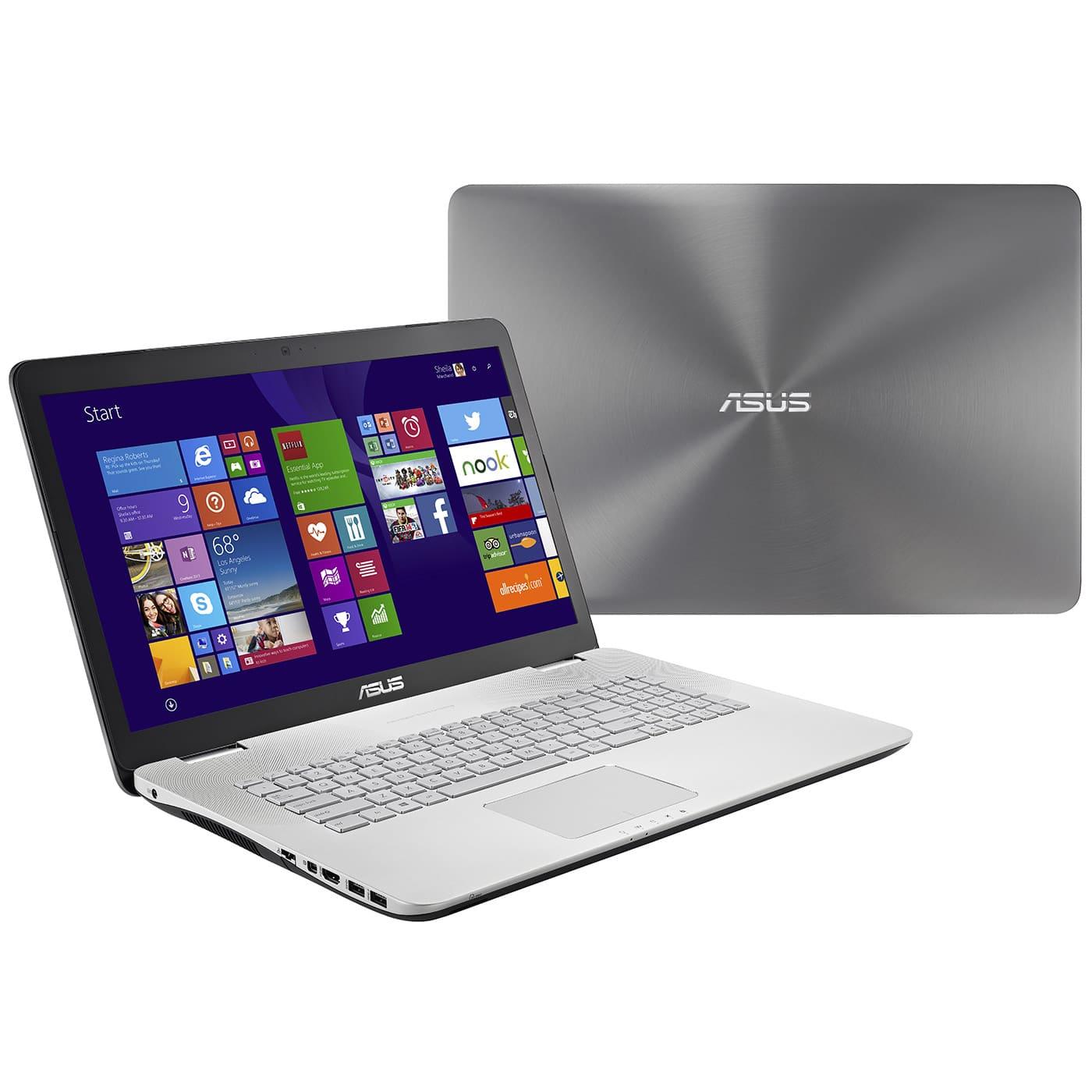 Asus N751JK-T7236H, PC portable 17 pouces Full HD mat à 1129€