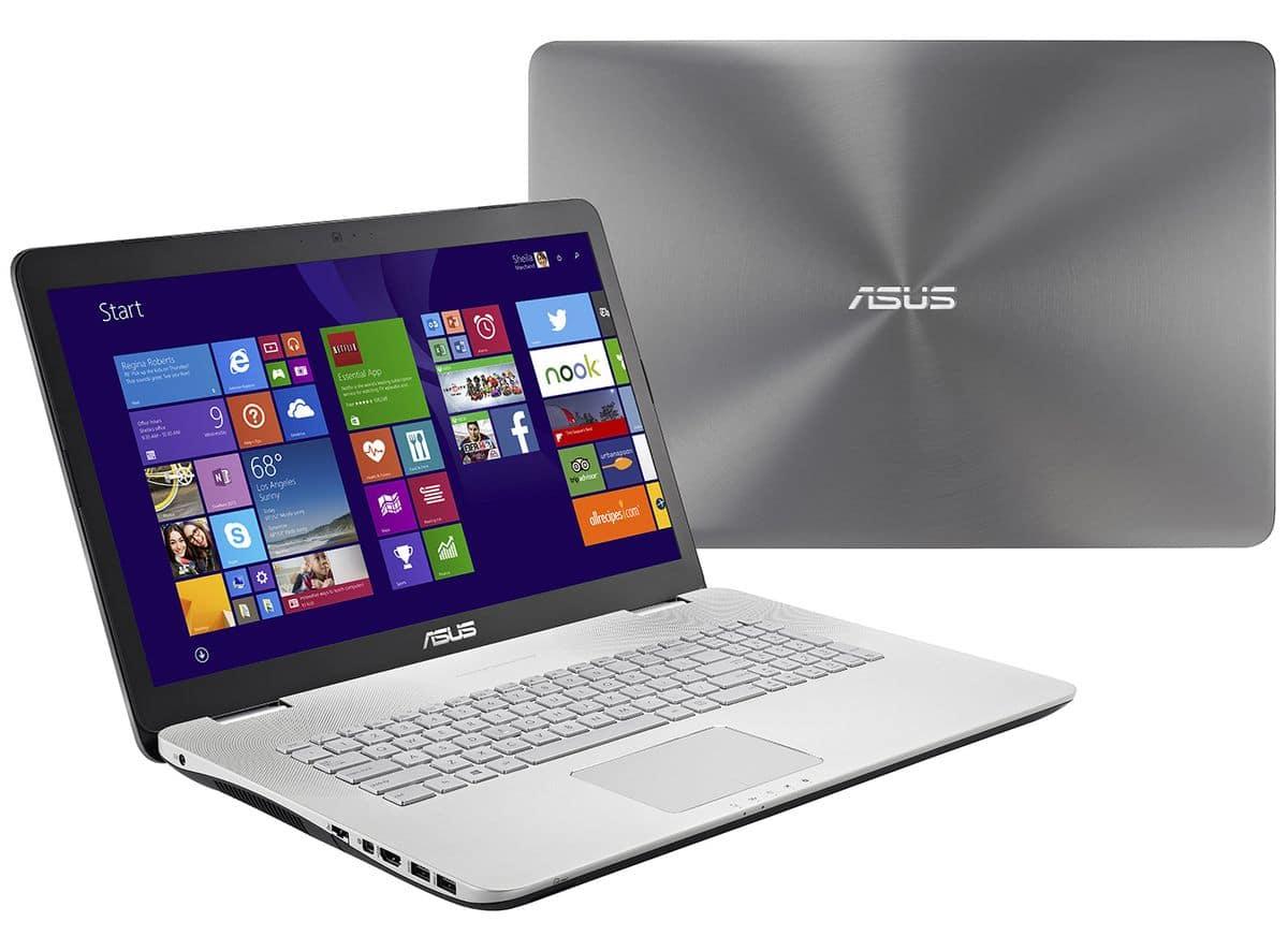 """<span class=""""toptagtitre""""><del>Promo 1199€ ! </span>Asus N751JK-T7247H, PC portable 17 pouces Full HD mat à 1299€</del>"""