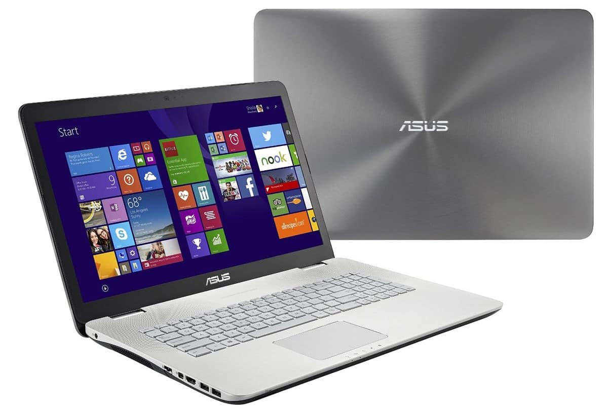 Asus N751JX-T4205T, portable 17 pouces Full HD mat Blu-Ray SSD promo 1399€