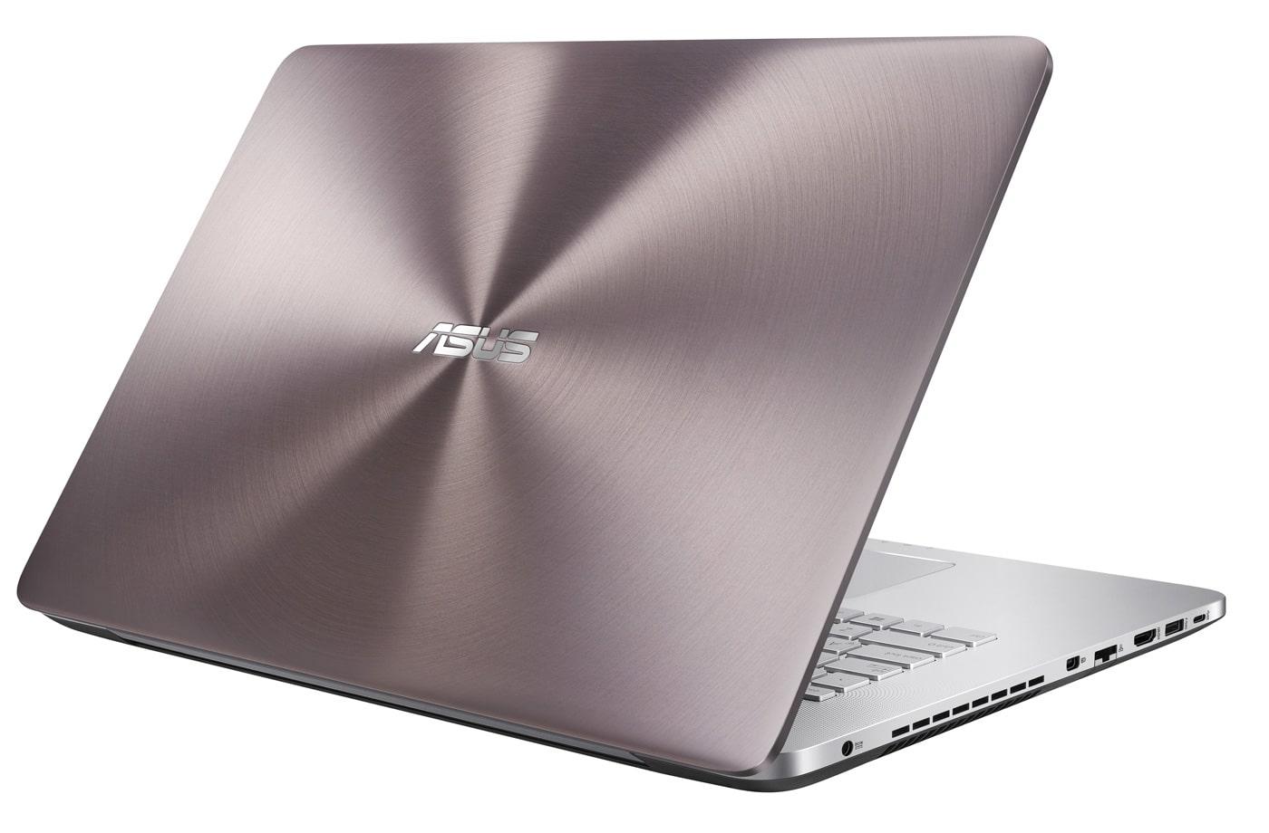 Asus N752VX-GC100T, PC portable 17 pouces polyvalent 16 Go Quad i7 GTX à 1199€