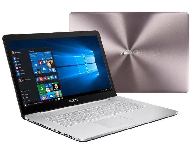 """Asus N752VX-GC128T, PC portable 17"""" polyvalent Quad i7 FHD GTX à 1199€"""