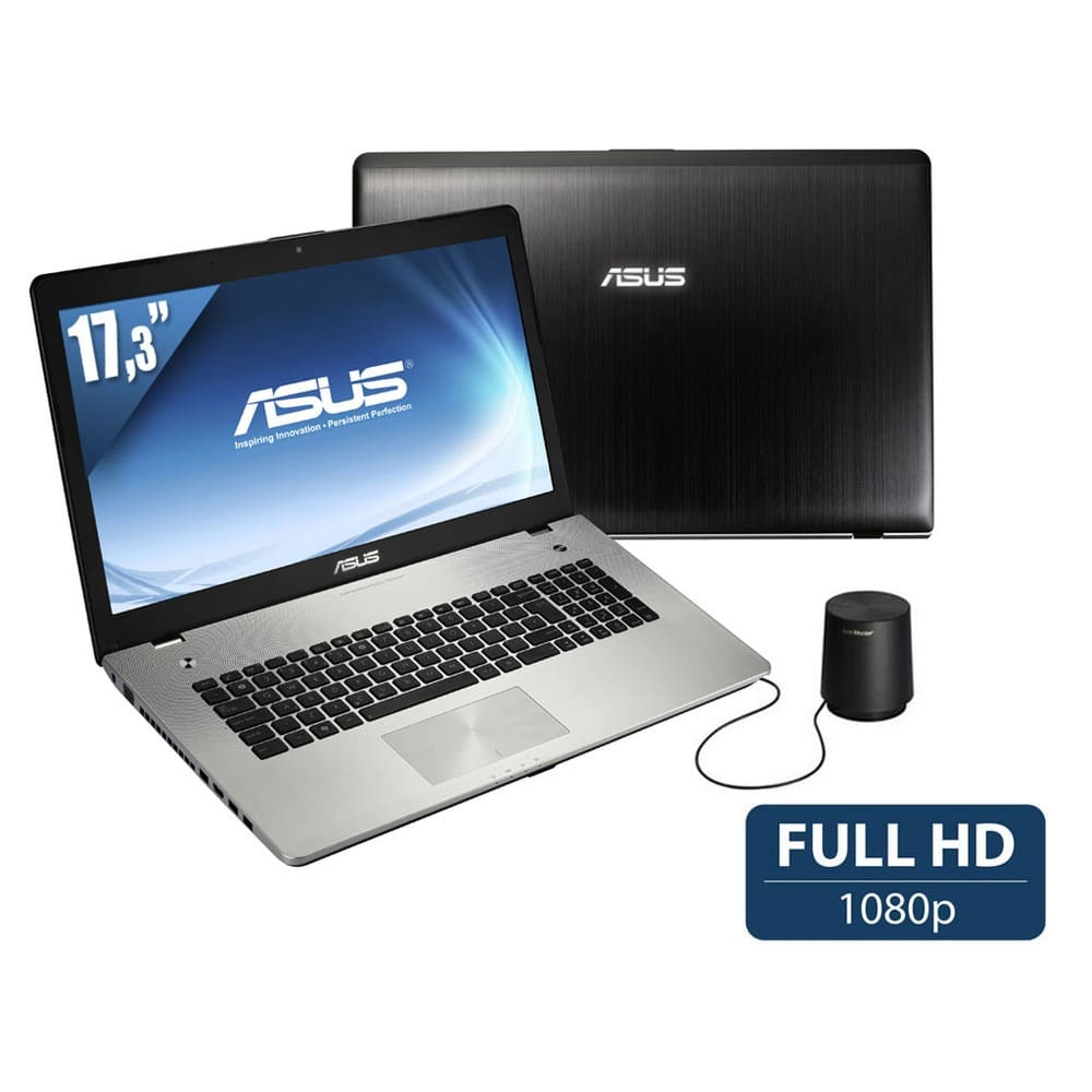 "Asus N76VB-T4168H, 17.3"" Full HD mat : Core i7 Ivy Bridge, 16 Go, Blu-Ray, GT 740M, 1 To à 999€"