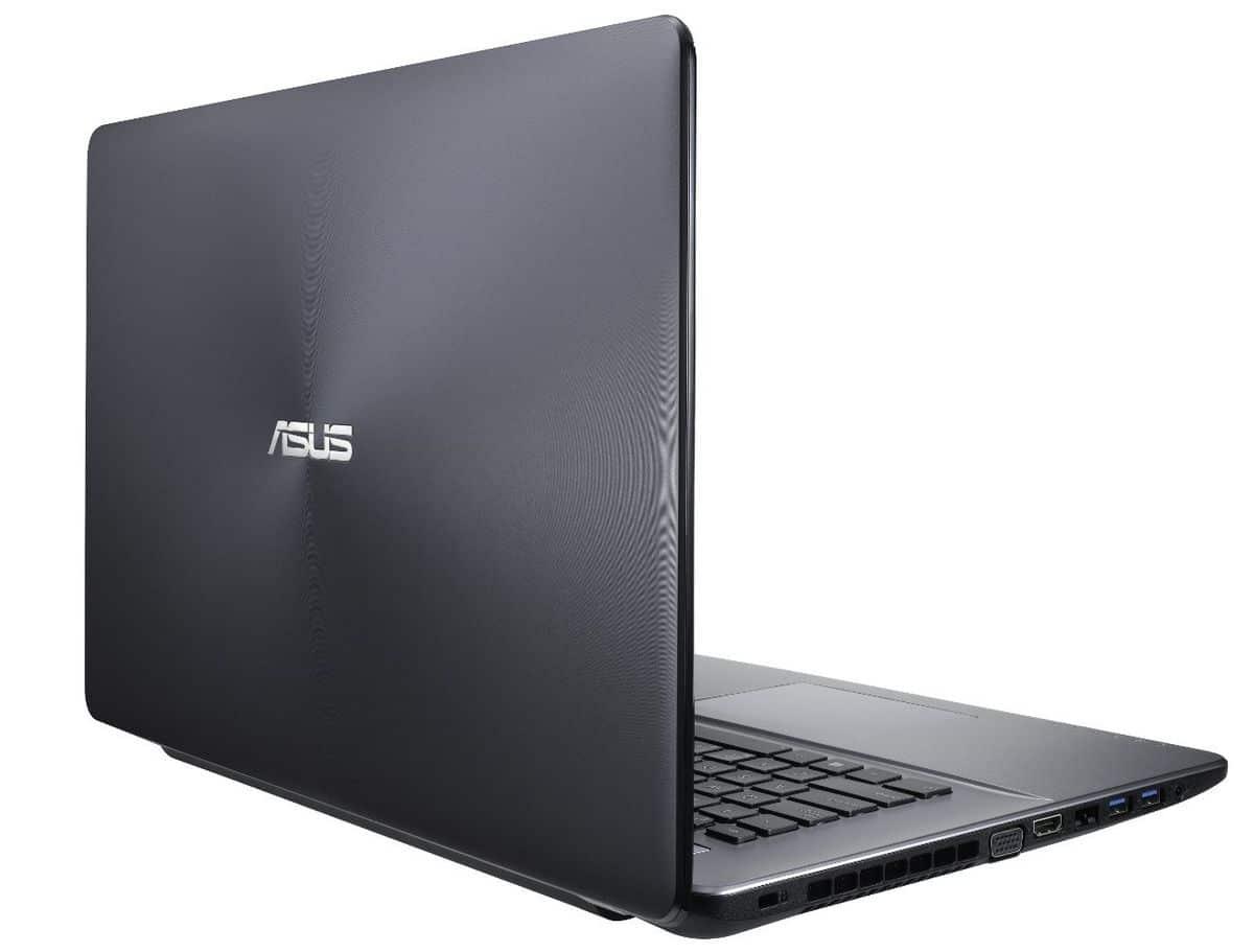 """Asus P750LB-T2059G, 17.3"""" mat à 764€ sous Windows 7 Pro avec Core i5 Haswell, GeForce GT 740M, 7200tr"""