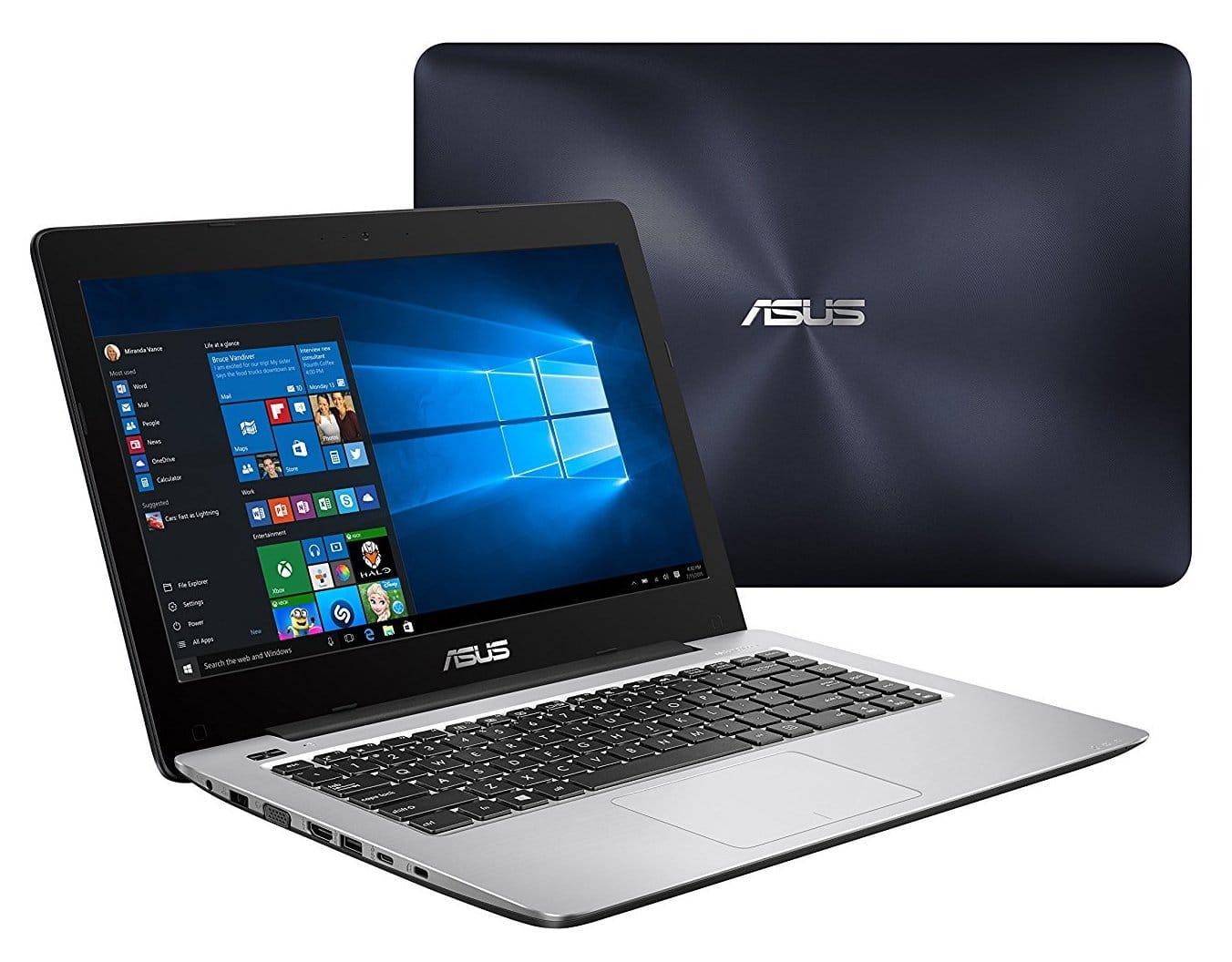 Asus R457UA-WX195T, PC portable 14 pouces bureautique Core i5 (399€)