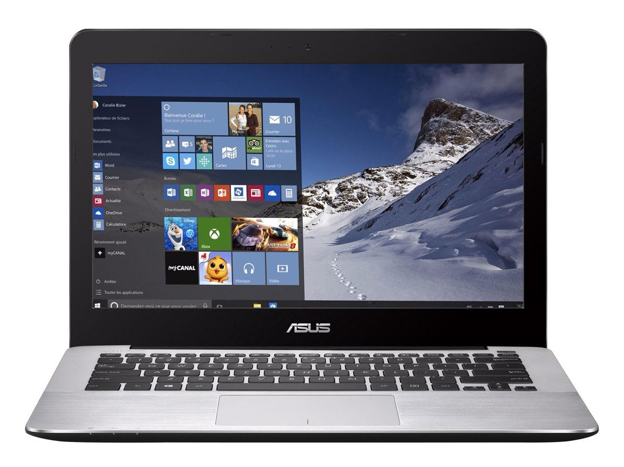 Asus R301UA-FN137T promo 549€, ultraportable 13 pouces mat SSD i5 argent
