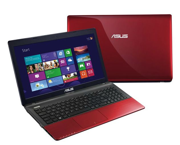 "Asus R500VD-SX930H, 15.6"" rouge à 499€ : Pentium Dual Core Ivy Bridge, 750 Go, 6 Go, Geforce 610M"