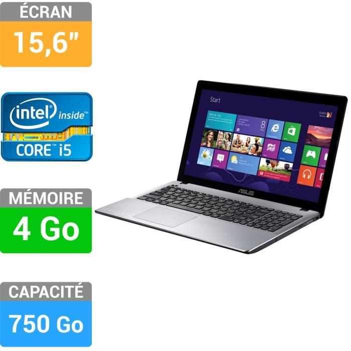 """<span class=""""toptagtitre"""">Promo 479€ ! </span>Asus R510CA-XX175H, 15.6"""" avec Core i5 Ivy Bridge, 750 Go en vente flash à 499€"""