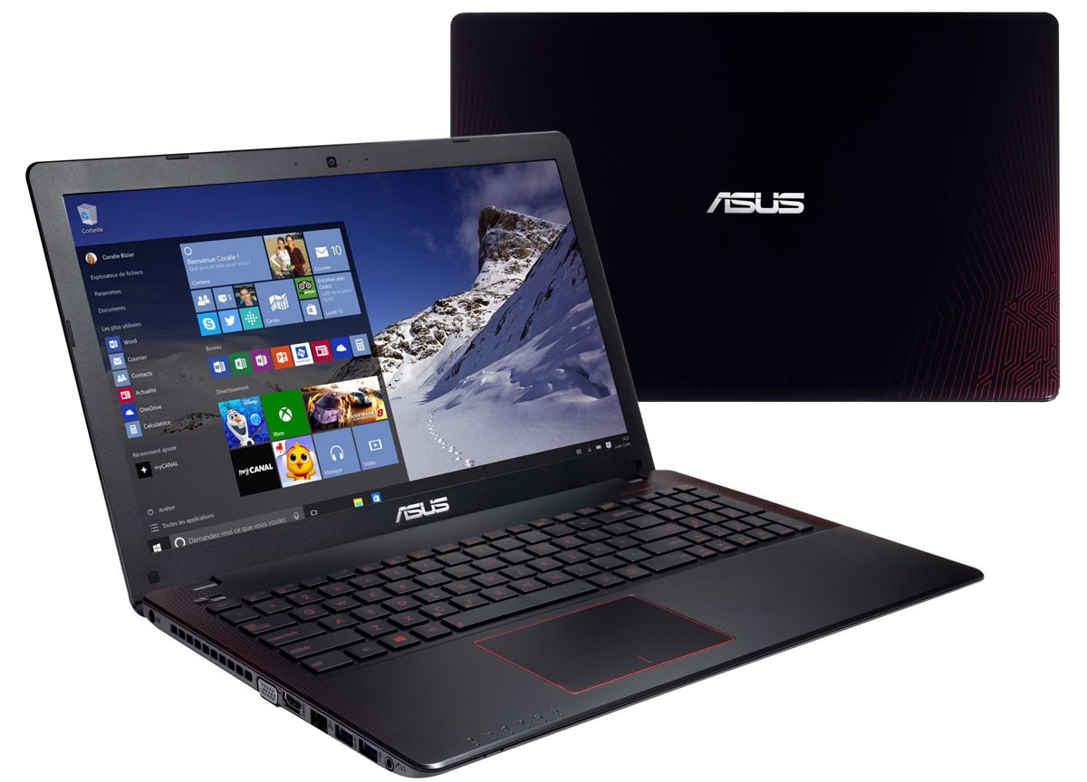 Asus R510JX-DM327T à 799€, PC portable 15 pouces Full GTX Core i5