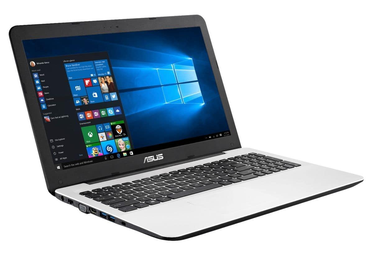 Asus R511LA-XX2982T vente flash 479€, PC portable 15 pouces SSD128+1To i3