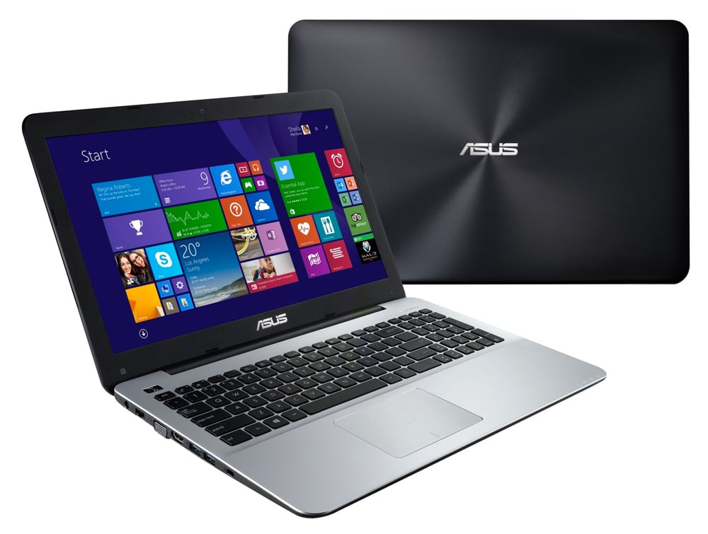 Asus R511LJ-DM878T à 619€, PC portable 15 pouces Full HD mat Broadwell