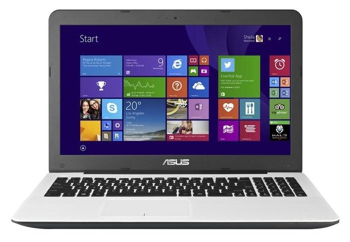 Asus R511LJ-XX1350T en vente flash à 579€, PC portable 15 pouces blanc Core i5
