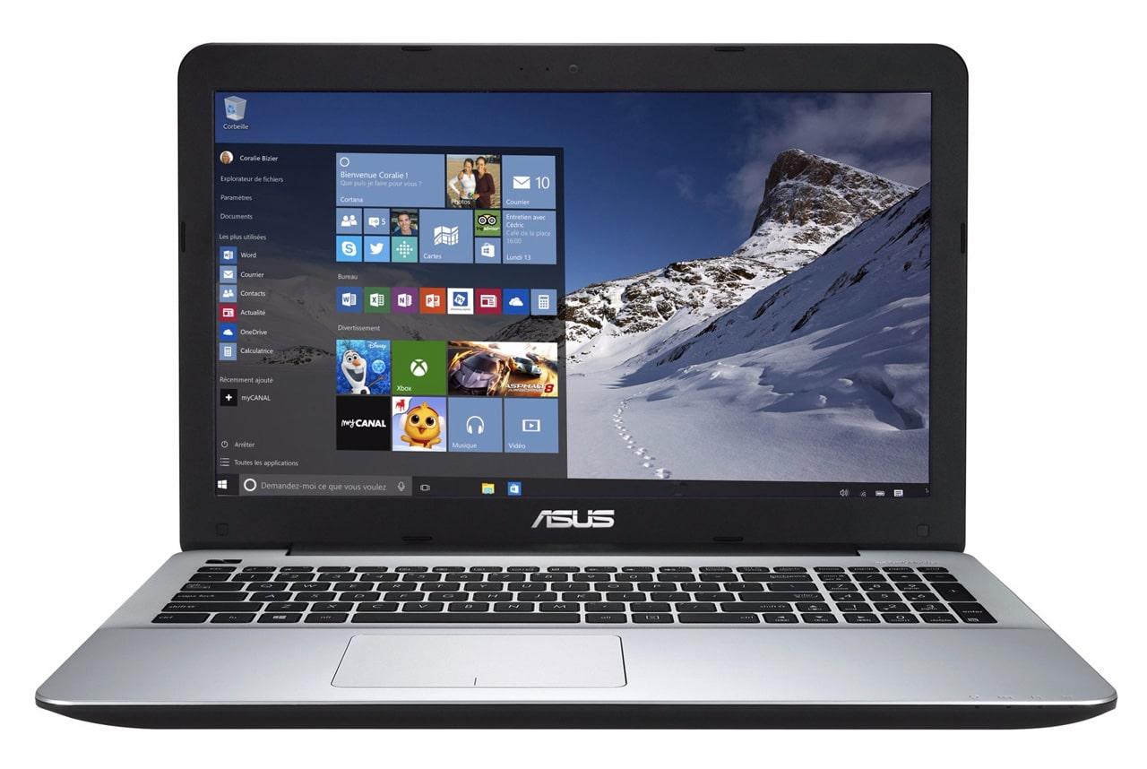 Asus R556LJ-XO165T à 649€, PC portable 15 pouces Core i7