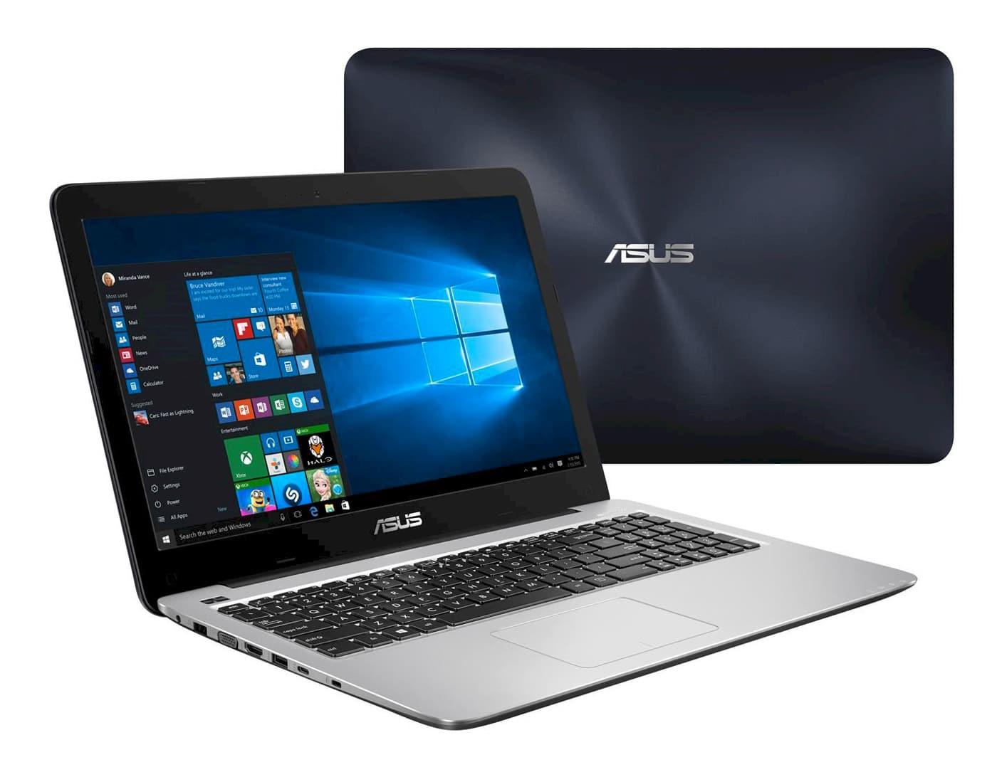 Asus R558UR-DM560T à 799€, PC portable 15 pouces Full SSD Kaby 930MX