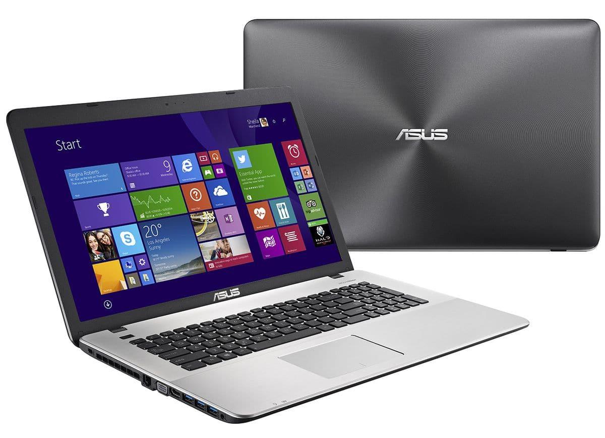Asus R752LX-T4030T à 799€, PC portable 17 pouces Full HD mat polyvalent