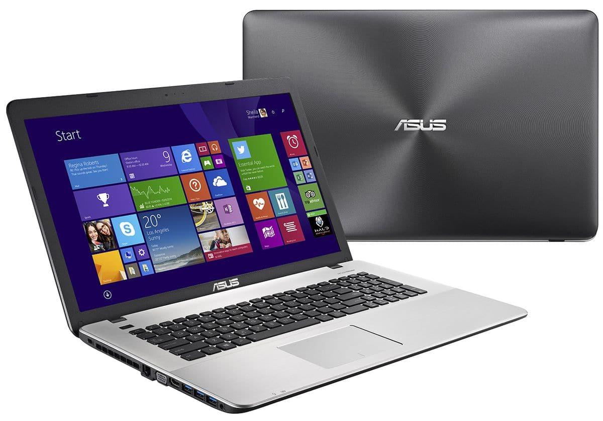 Asus R752LX-T4085T, PC portable 17 pouces Full HD mat à 999€
