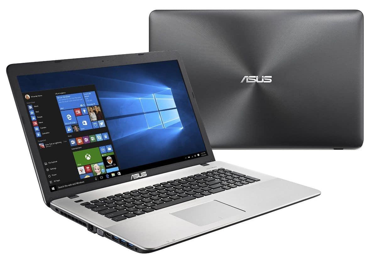 Asus R753UX-T4040T, PC portable 17 pouces Full mat GTX 950M 8 Go i7, 999€