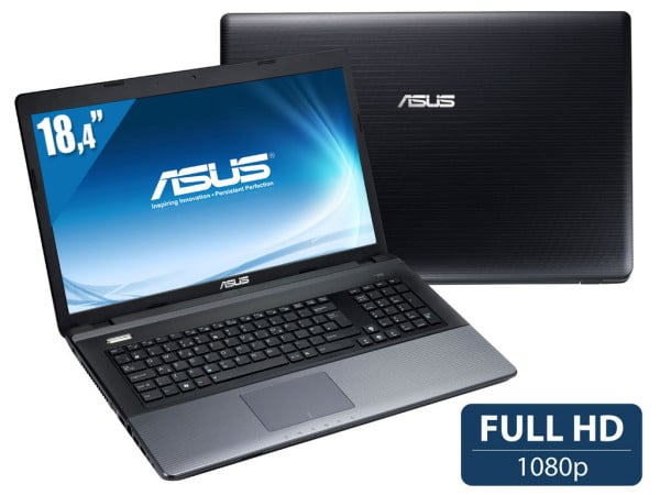 "Asus R900VB-YZ083H, 18.4"" Full HD polyvalent : Geforce GT 740M Pentium Dual Core Ivy Bridge, 1 To 7200tr à 599€"