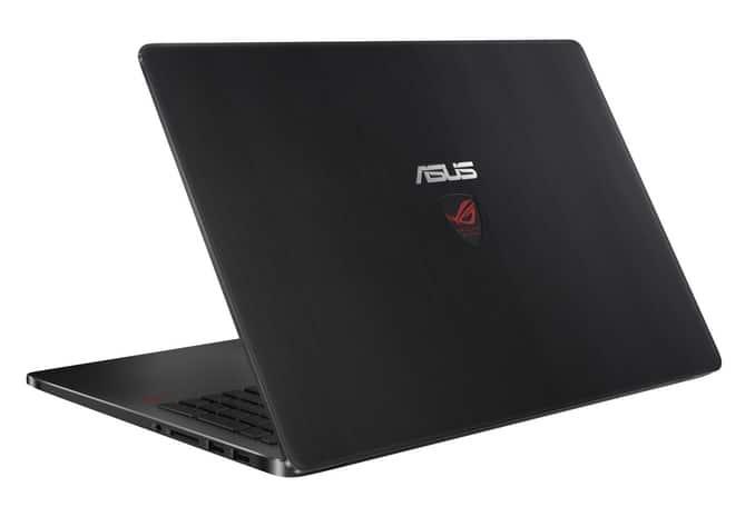 Asus ROG G501 et GL551JW, 15 pouces gamer : 4K, GTX 960M, SSD