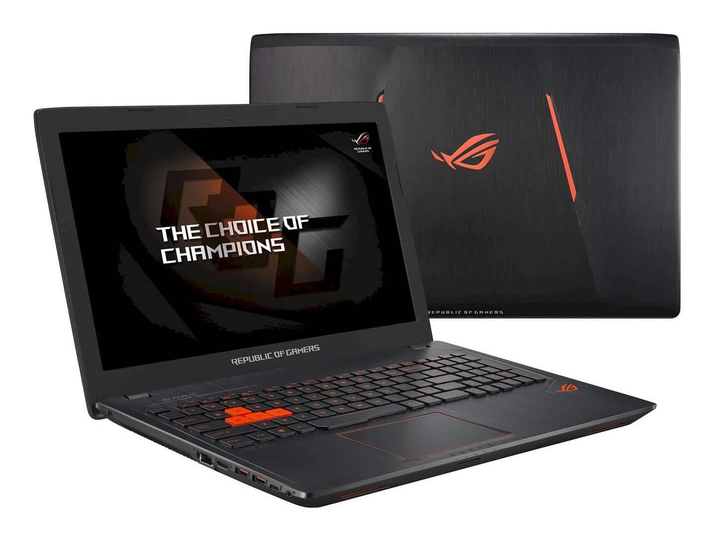 Asus ROG G553VW-FY149T, PC portable 15 pouces IPS SSD256 16Go (899€)
