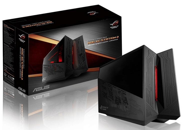 Asus ROG XG Station 2, module carte graphique externe pour PC portable 549€