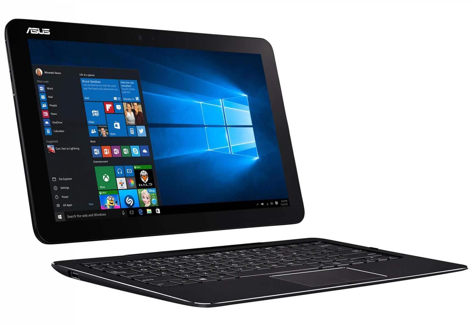 Asus T302CA-FL047T, tablette 12 pouces avec dock clavier SSD Full HD à 689€