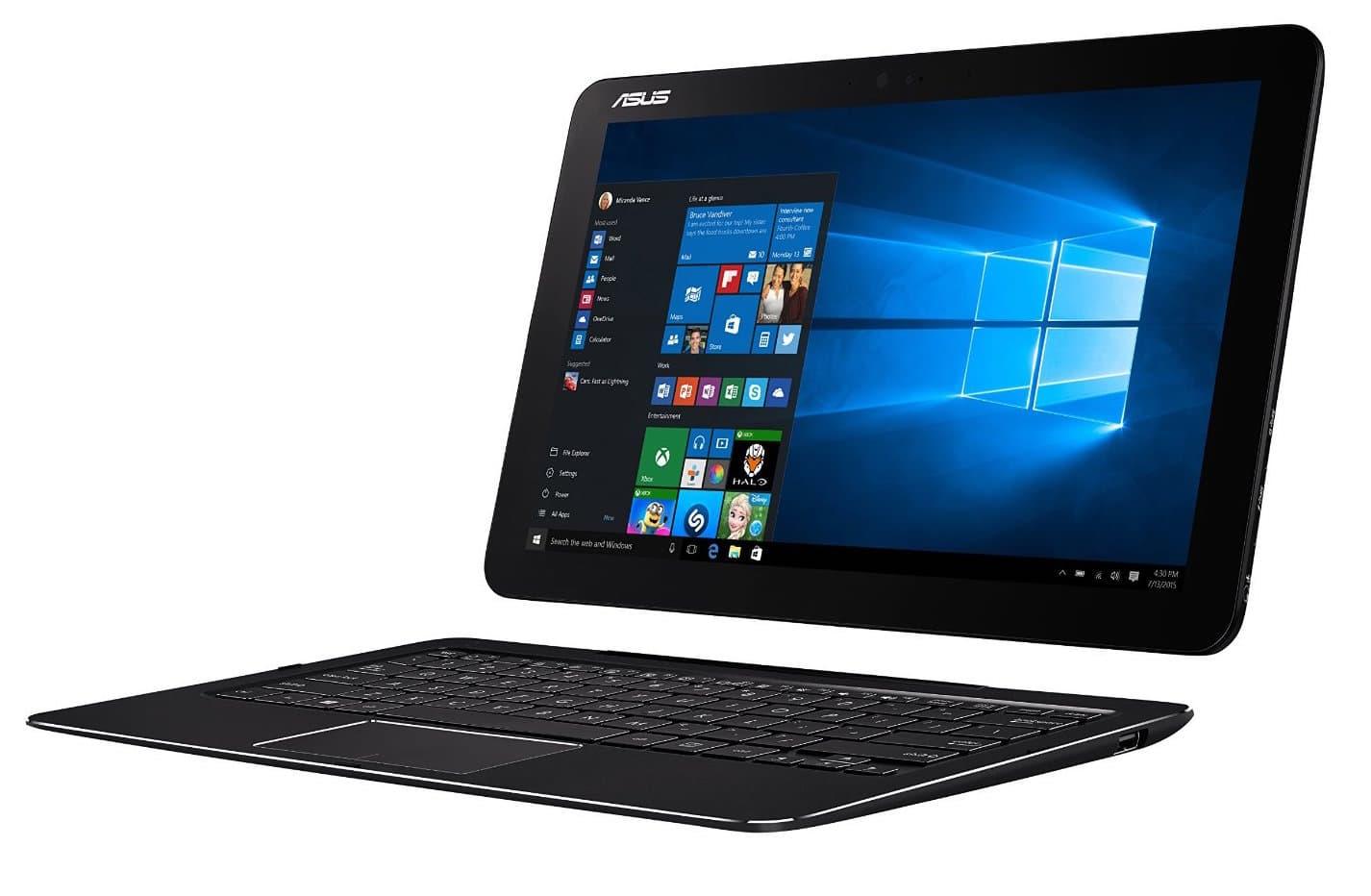 """Asus Transformer Book Pro T302CA-GI044T, tablette 12"""" avec dock clavier et QHD à 698€"""