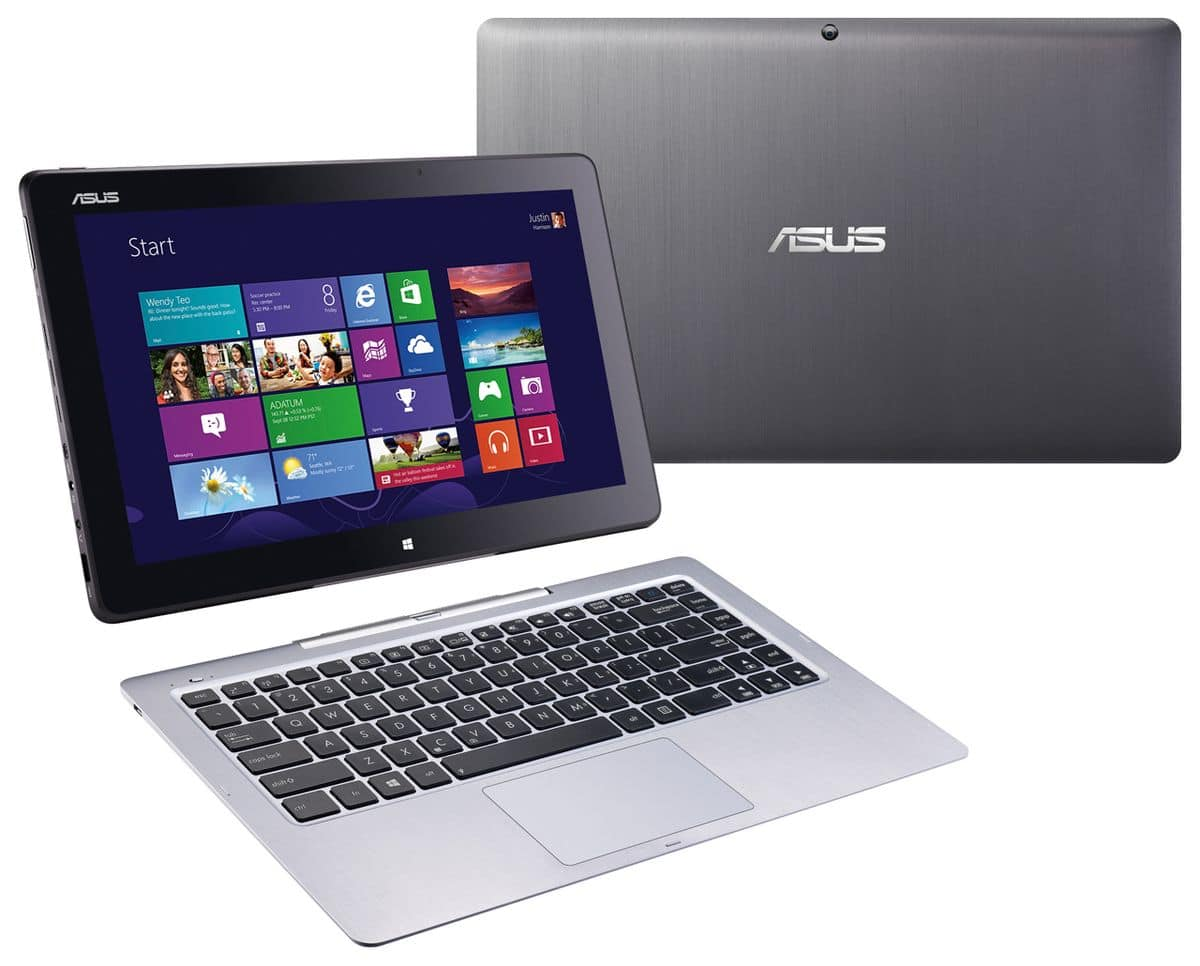 """<span class=""""tagtitre"""">IFA 2013 - </span>Asus Transformer Book T300, Ultrabook Full HD IPS tactile/Tablette Haswell"""