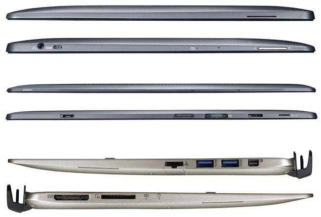 """Asus Transformer Book TX300CA-C4023H, 13.3"""" Full HD IPS tactile/Tablette: i5, SSD/HDD, 1299€"""