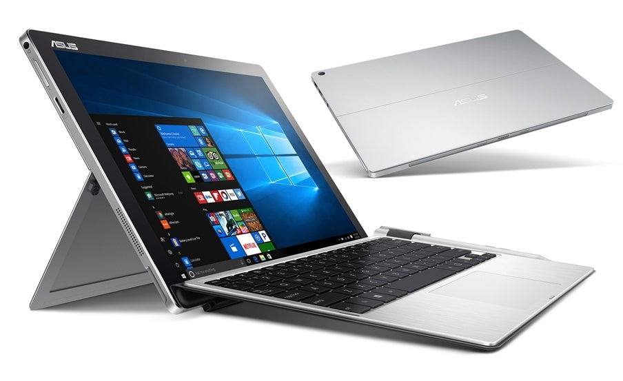 Asus Transformer Pro T304UA, Ultrabook 12.5 pouces 2K convertible Tablette Kaby