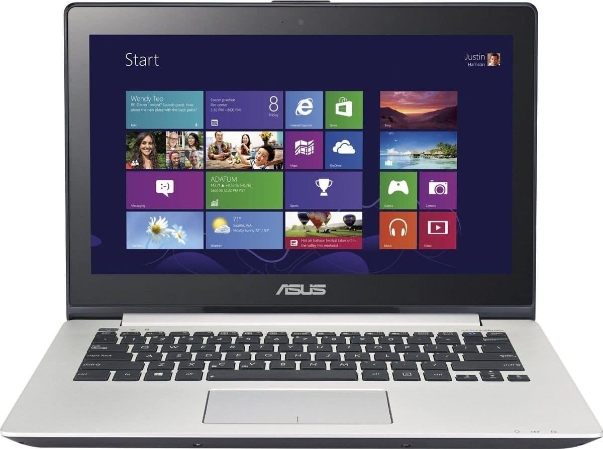 """<span class=""""toptagtitre"""">Promo 449€ ! </span>Asus VivoBook S301LA-C1016H en vente flash à 499€, 13.3"""" tactile avec Core i3 Haswell"""