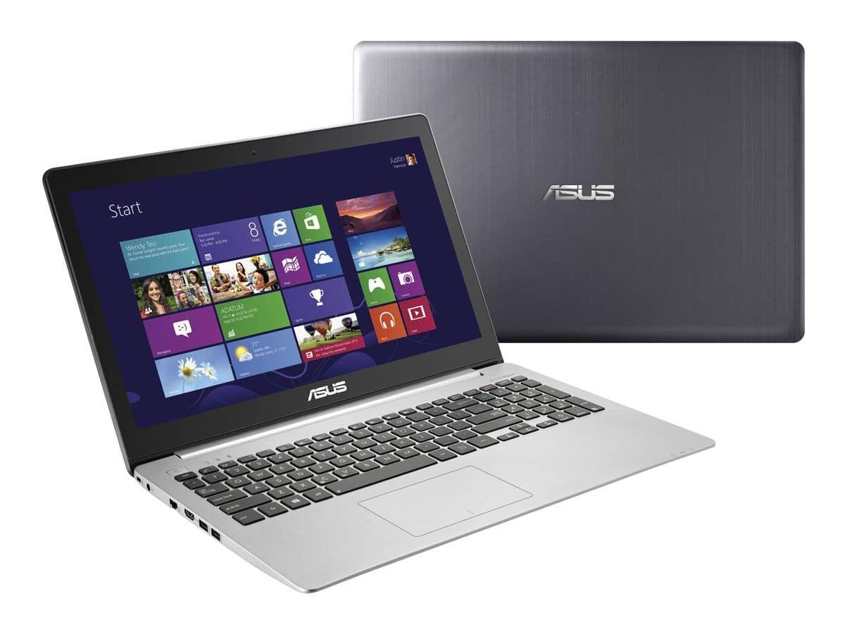 """Asus VivoBook S551LB-CJ058H à 729€, 15.6"""" tactile polyvalent avec Core i5 Haswell, GT 740M, 750 Go"""