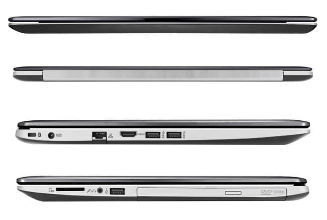 "Asus VivoBook S551LB-CJ103H, 15.6"" tactile vente flash 799€ : Core i7 Haswell, GT 740M, SSD/750 Go"